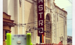 Driving by the Castro Theater