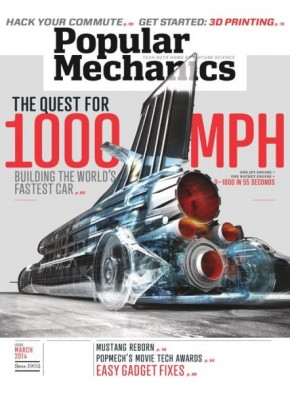 Popular Mechanice March 2014 Cover