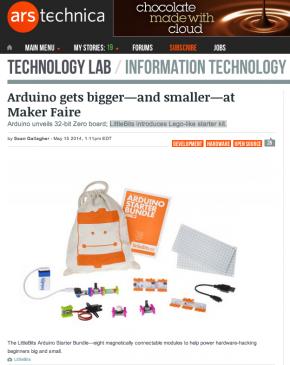 Ars Technica Screenshot