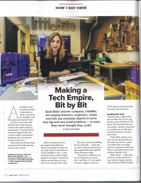 littleBits CNET Feature – March 2015 (1)