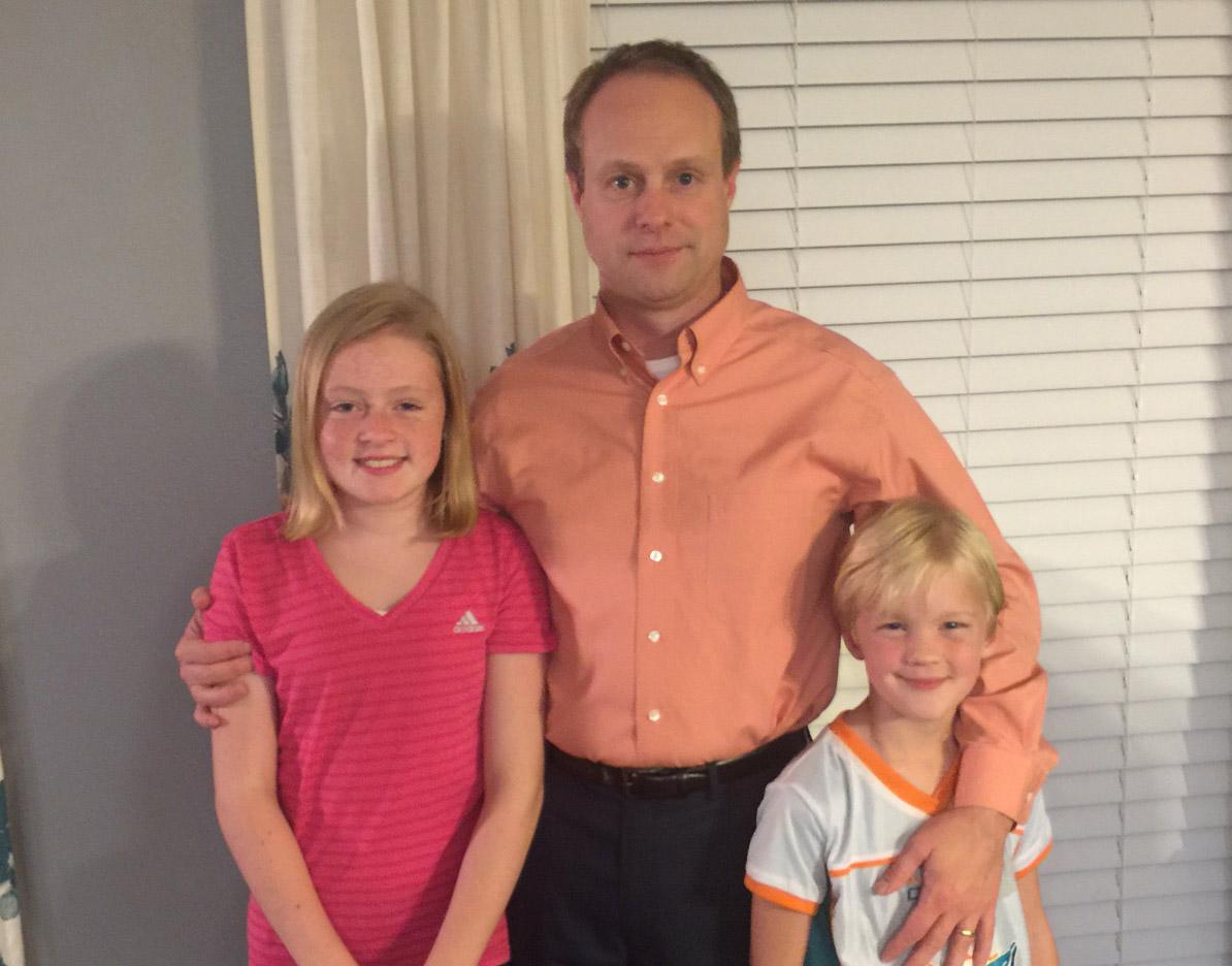 Jeff Ivey family