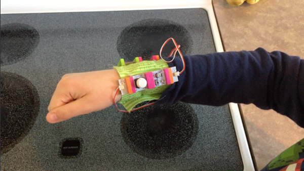 littlebits-alarm-wristband