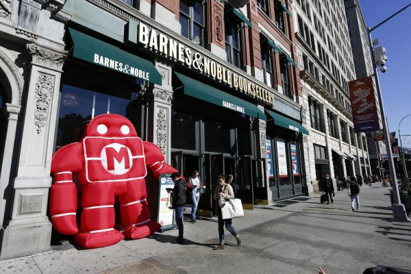 Barnes & Noble flagship Union Square store hosts a Mini Maker Faire in New York, November 8, 2015. Photo by Jeff Zelevansky for Barnes & Noble