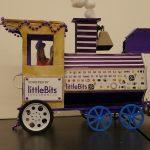 party train engine car