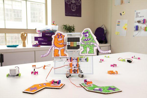 littleBits Code Kit Tug-of-War